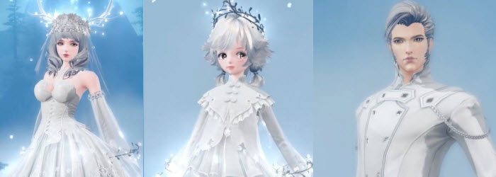 Revelation Online China Christmas Costumes & Mount