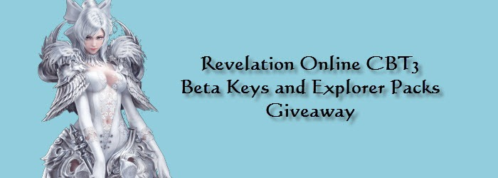 Revelation Online CBT3 Beta Keys and Explorer Packs Giveaway