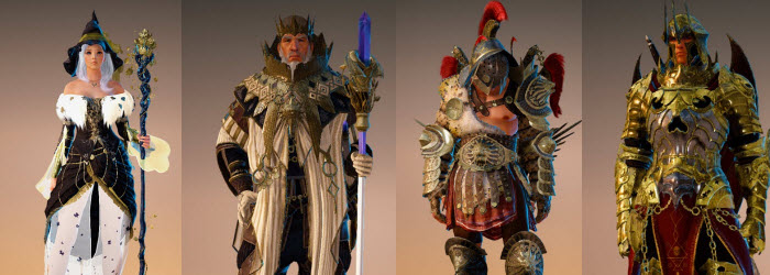 Black Desert New Korean Pearl Shop Costumes for Feb 23