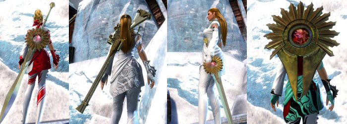GW2 Devoted Weapon Skins Gallery