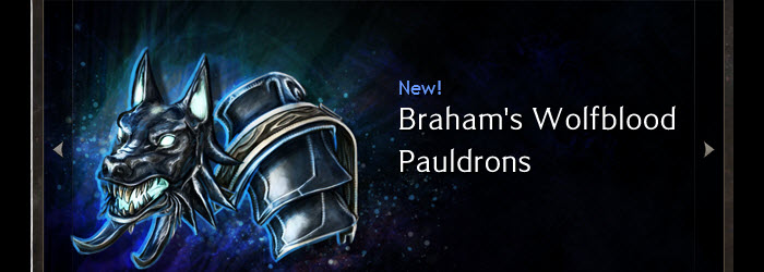 GW2 Gemstore Update–Braham's Wolfblood Pauldrons