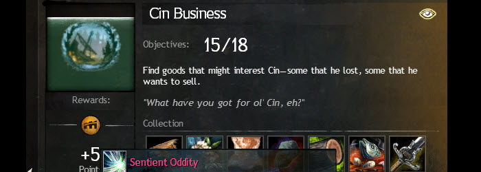 GW2 Cin Business Achievement Guide