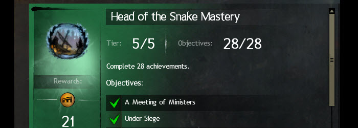 GW2 Head of the Snake Achievements Guide
