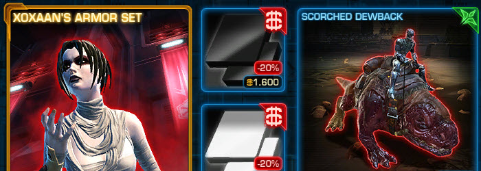 SWTOR CM Black and White dye packs now available