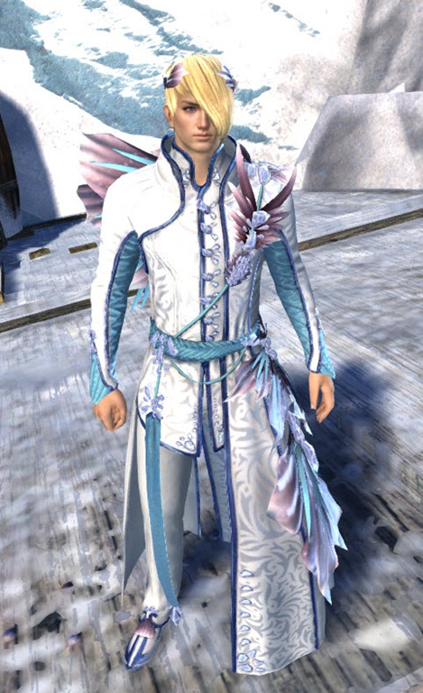 GW2 - Spring Promenade Outfit Gallery | Time Keepers