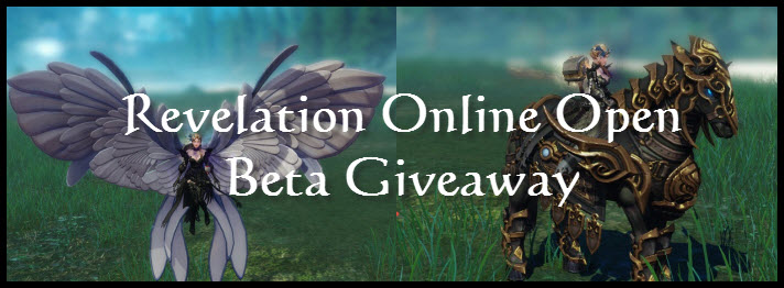 Revelation Online Open Beta Giveaway