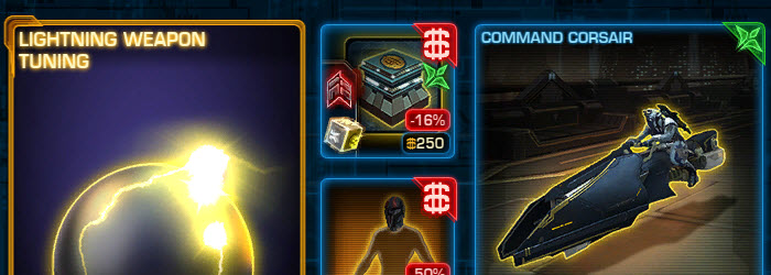 SWTOR CM Weekly Sales March 14 – 21