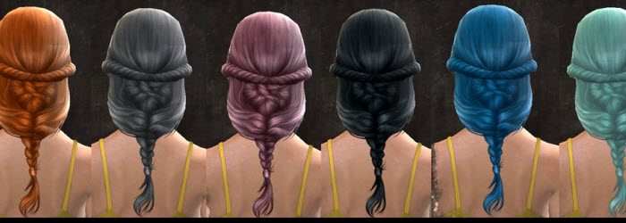 GW2 New Hair, Hair Accessories and Primordus Dyes