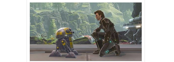 SWTOR Free M8-3R Droid for Star Wars Celebration