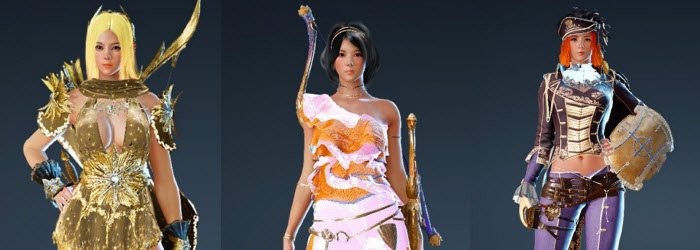 Black Desert New Korean Pearl Shop Costumes for May 18