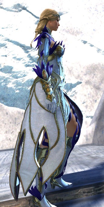 Gw2 Kasmeer S Regal Outfit And Vine Touched Destroyer