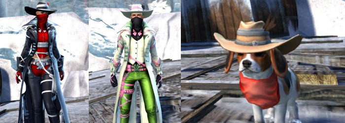 GW2 Gemstore Update–Outlaw Outfit and Outlaw Puppy