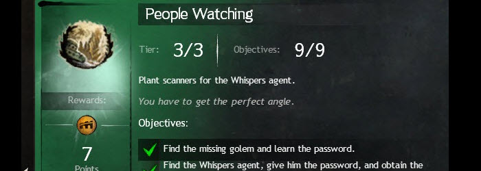 GW2 People Watching Achievement Guide