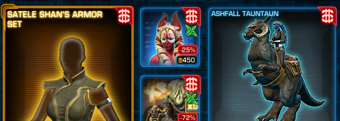 SWTOR CM Weekly Sales May 9 – May 16