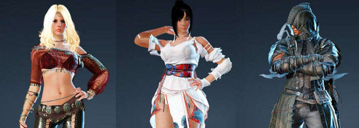 Black Desert Korea New Pearl Shops Costumes for Sorc/Kuno/Musa