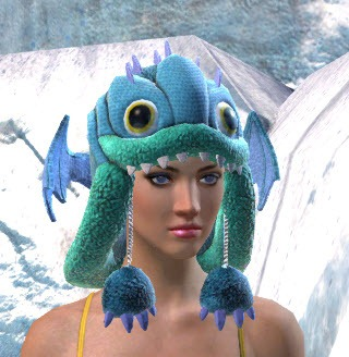 Gw2 Gemstore Update Fuzzy Aurene Hat And Mini Plush Aurene