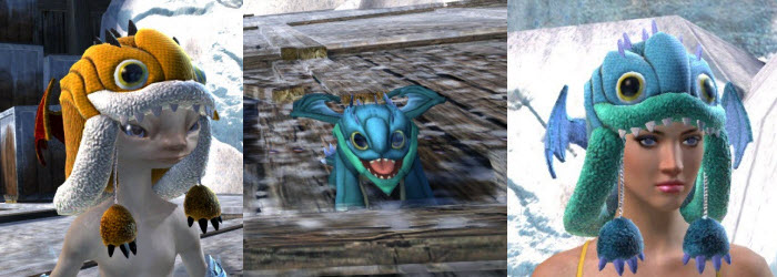 GW2 Gemstore Update–Fuzzy Aurene Hat and Mini Plush Aurene