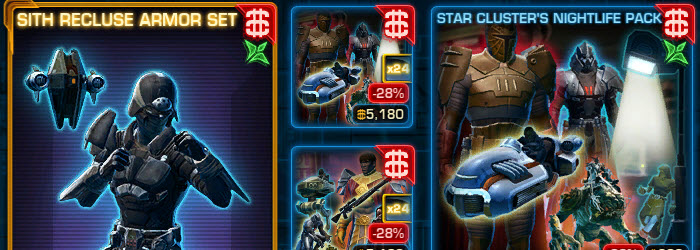 SWTOR CM Weekly Sales June 6 – June 13