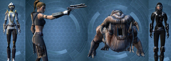 SWTOR Armed Resistance Command Pack Preview