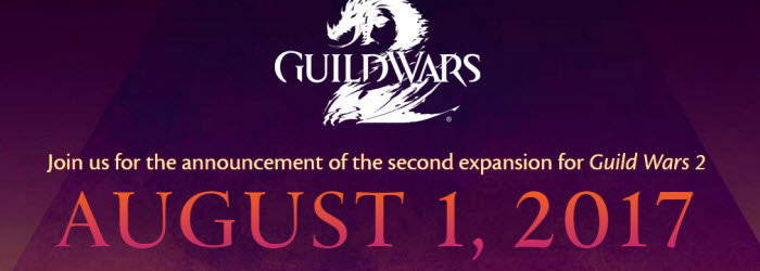 GW2 New Expansion Announcement August 1