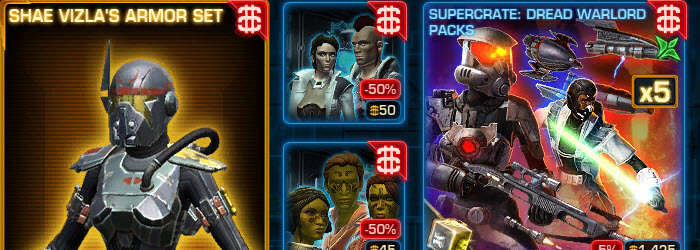 SWTOR CM Weekly Sales July 4 – July 11