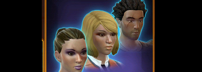 SWTOR Galactic Hero Hairstyles Now Available