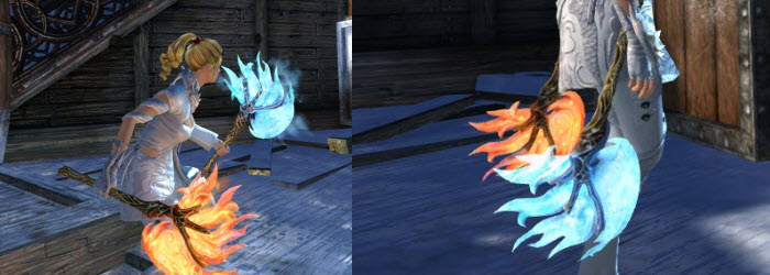 GW2 Gemstore Update–Level 80 Boost and Fiery/Icy Blade Axe