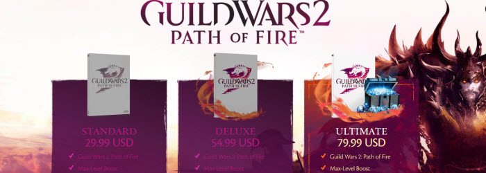 GW2 Pre-purchase Path of Fire Expansion and Support the Site