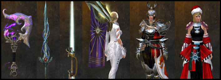 GW2 Upcoming Armor, Outfits, and Weapons from Path of Fire