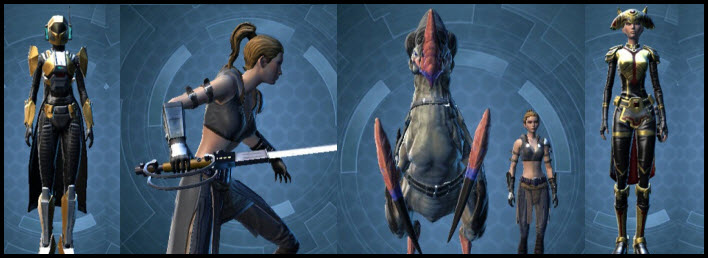 SWTOR Precious Cargo Command Pack Preview
