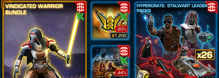 SWTOR CM Weekly Sales August 1 – August 8