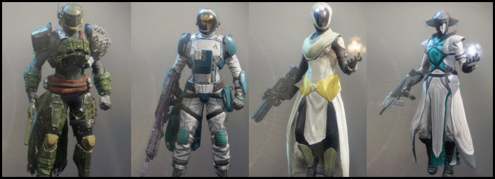 Destiny 2 Faction Engram Armor and Weapons