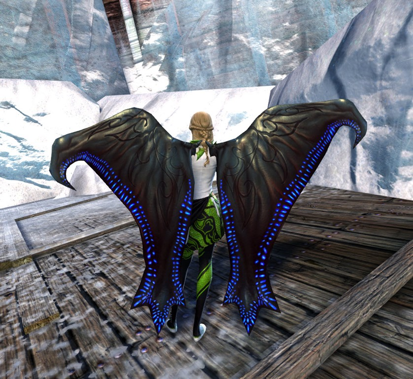 Gw2 Gemstore Update Largos Fin Backpack Glider Combo Dulfy
