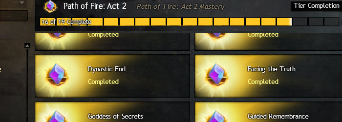 GW2 Path of Fire Act 2 Story Achievements Guide