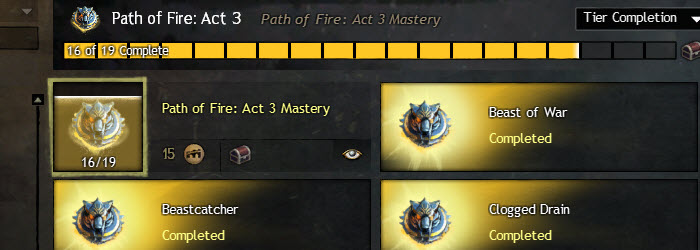 GW2 Path of Fire Act 3 Story Achievements Guide