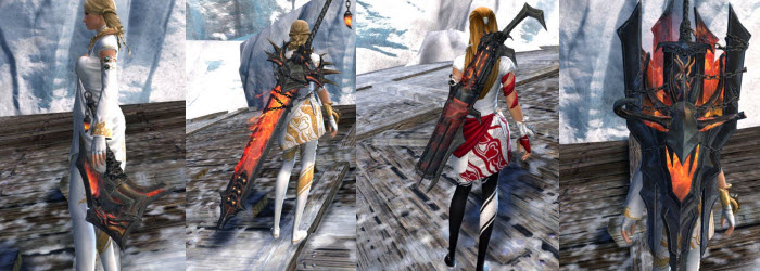 GW2 War God Weapon Skins Gallery