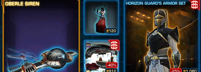 SWTOR CM Weekly Sales September 26 – October 3