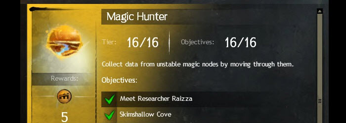 GW2 Magic Hunter Achievement Guide
