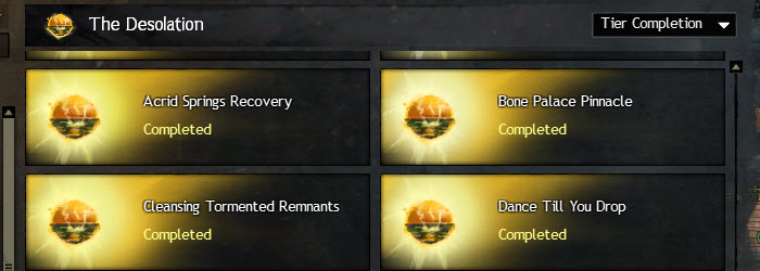 GW2 The Desolation Achievements Guide