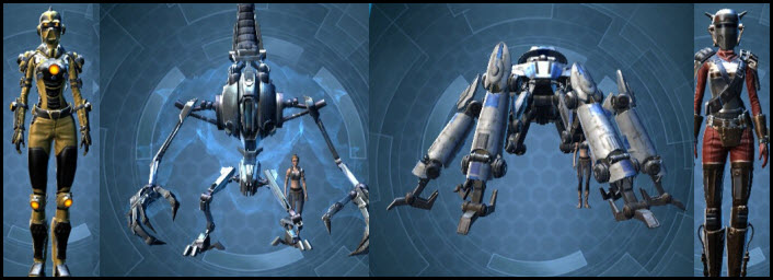 SWTOR Singularity United Forces Packs Preview