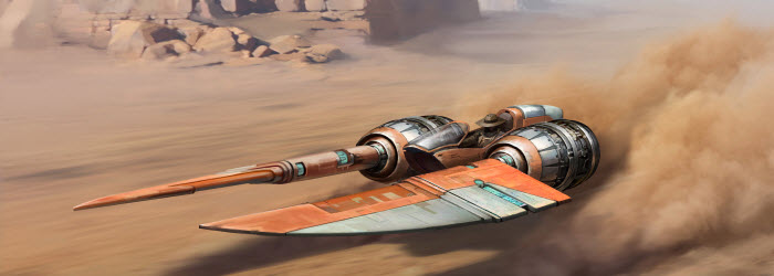 SWTOR Free Shadow of Revan Expansion and KOTOR Speeder