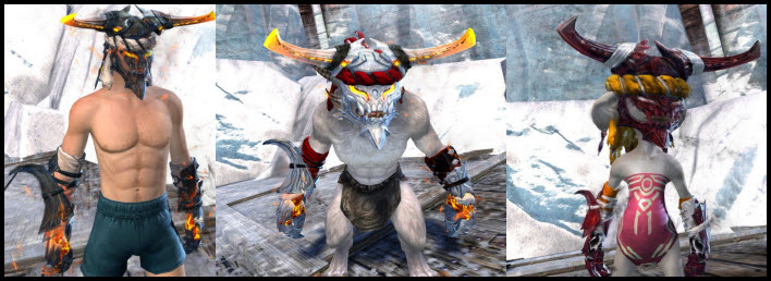 GW2 Gemstore Update–Salvaged Forged Helm and Gloves