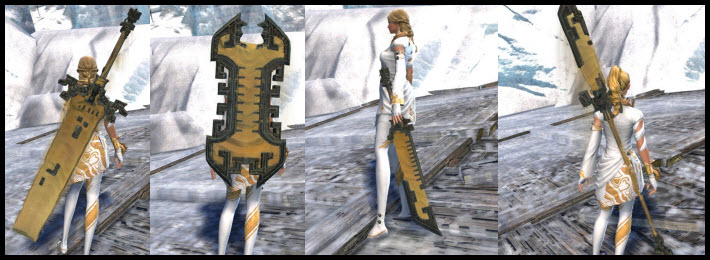 GW2 Shifting Sands Weapon Skins Gallery