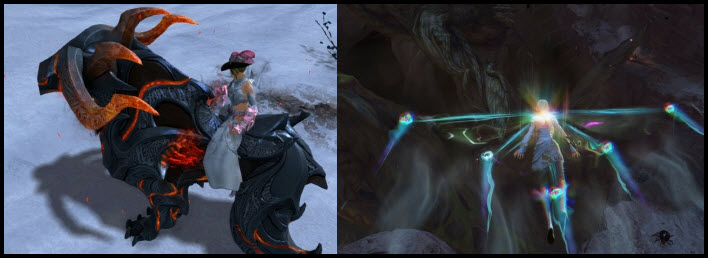 GW2 Gemstore Update–Reforged Warhound and Wild Magic Glider