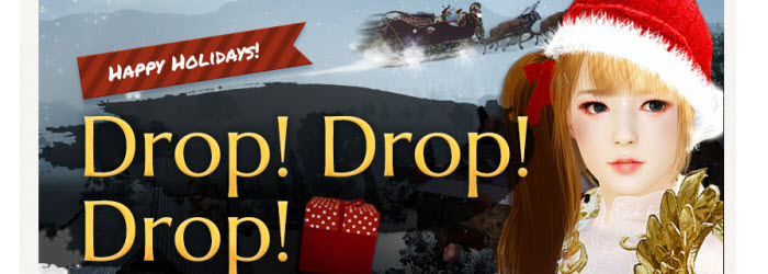 Black Desert Drop! Drop! Drop! Holiday Events