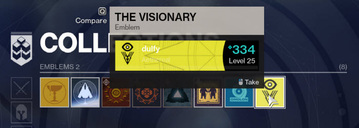 Destiny 2 Fall of Osiris Comic and Free Visionary Emblem