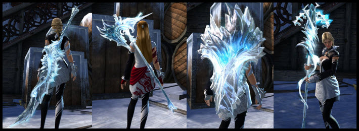 GW2 Glacial Weapon Skins Gallery