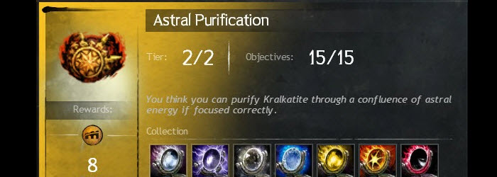 GW2 Astral and Stellar Weapon Crafting Guide