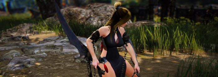 Black Desert Lahn Awakening Gameplay & Skill Demo