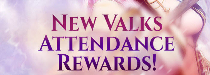 Black Desert New Valks Attendence Rewards